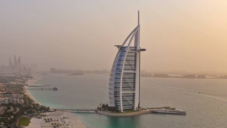 An image that illustrates this article World's top hotels: Dubai's Burj Al Arab comes first in Mena rankings