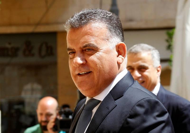 Major General Abbas Ibrahim, head of Lebanon's General Security agency is seen in Beirut, Lebanon May 23, 2018. Picture taken May 23, 2018. REUTERS/Jamal Saidi