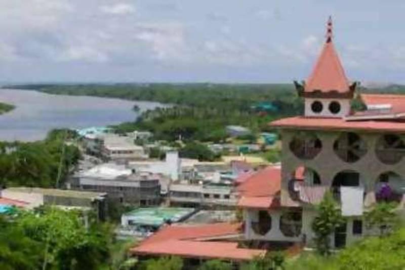 07 Mar 2007, Suva, Fiji --- Town of Suva --- Image by © Ashley Cooper/Corbis