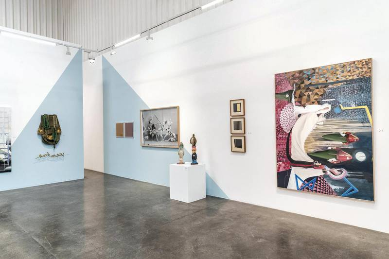 DUBAI, UNITED ARAB EMIRATES. 02 JUNE 2018. The Work Every Day exhibition at Lawrie Shabibi gallery in Al Serkal Avenue, Al Quoz. (Photo: Antonie Robertson/The National) Journalist: Melissa Gronlund. Section: Weekend.