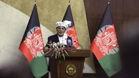 Ashraf Ghani: talks in progress to prevent more violence in Afghanistan