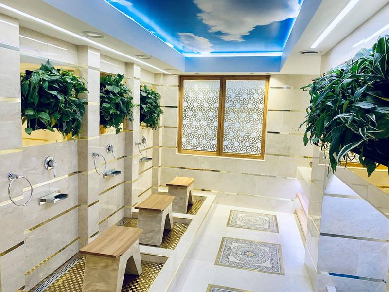 New women's wudu space. Courtesy Abdullah Quilliam Society