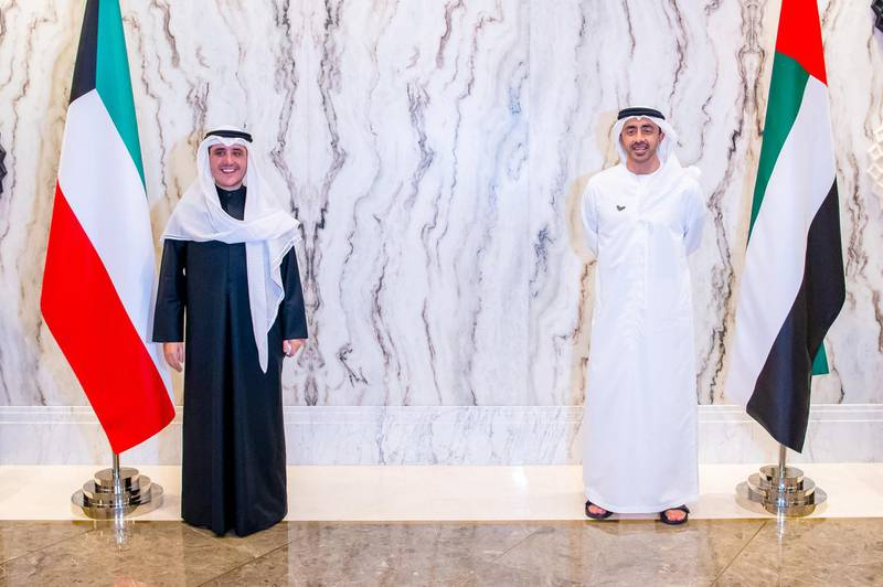 Sheikh Abdullah bin Zayed, Minister of Foreign Affairs and International Cooperation, and Foreign Minister of Kuwait Dr. Ahmed Nasser Al-Mohammed Al-Jaber Al-Sabah have reviewed the longstanding fraternal relations between the two nations. Wam