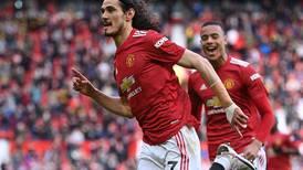 Manchester United v Fulham player ratings: Bruno Fernandes 7, Edinson Cavani 7; Alphonse Areola 8, Fabio Carvalho 5