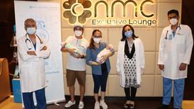 Filipino mother hit by Covid-19 gives birth to twin daughters in Dubai