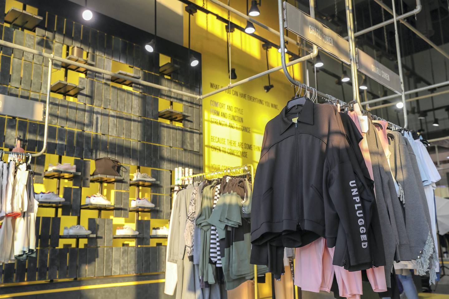 Dubai, United Arab Emirates - October 16th, 2017: General view pictures of the Hauteletic store. Monday, October 16th, 2017 at Galleria Mall, Dubai. Chris Whiteoak / The National