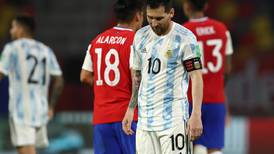 Lionel Messi on target as Argentina held by Chile in 2022 World Cup qualifier