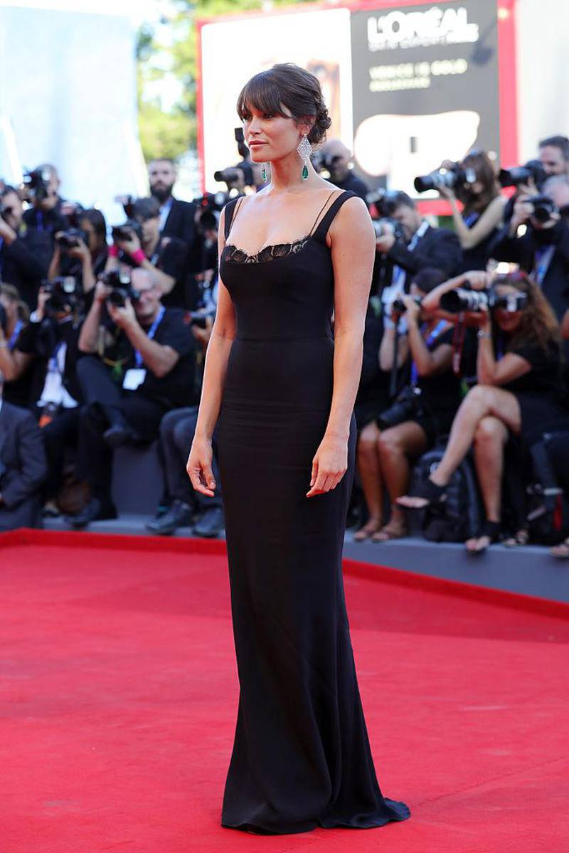 VENICE, ITALY - AUGUST 31:  Gemma Arterton attends the opening ceremony and premiere of 'La La Land' during the 73rd Venice Film Festival at Sala Grande on August 31, 2016 in Venice, Italy.  (Photo by Vittorio Zunino Celotto/Getty Images for Lionsgate)