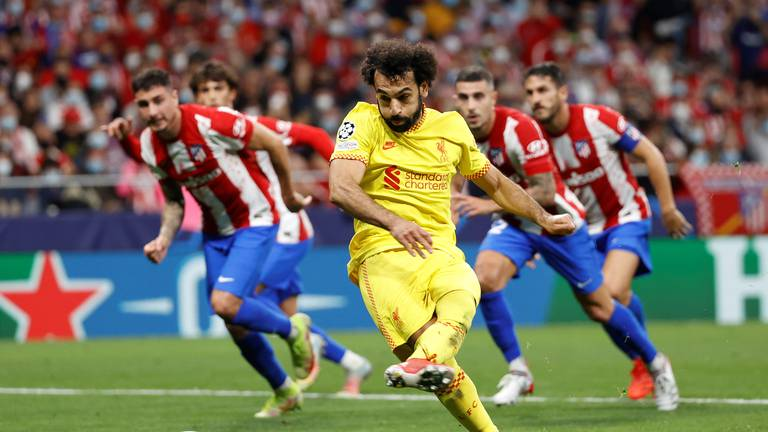 An image that illustrates this article Salah helps Liverpool beat Atletico in Champions League thriller