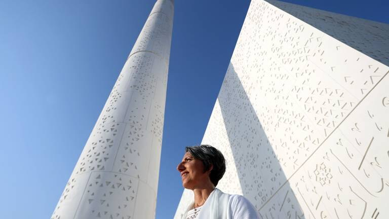 An image that illustrates this article One of the first UAE mosques designed by a woman - in pictures