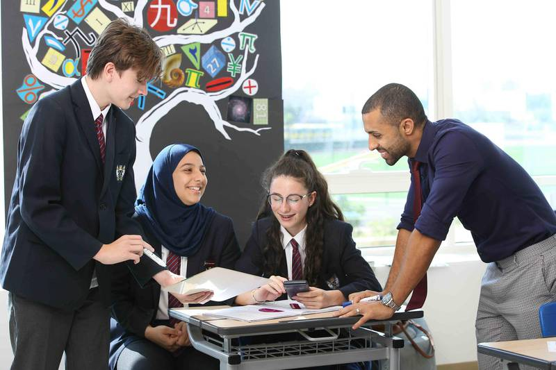 Mental health and wellbeing studies will be part of the curriculum at Brighton College Dubai. Courtesy Brighton College Dubai
