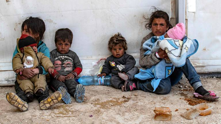 An image that illustrates this article Syria: two children die every week in camps for ISIS families