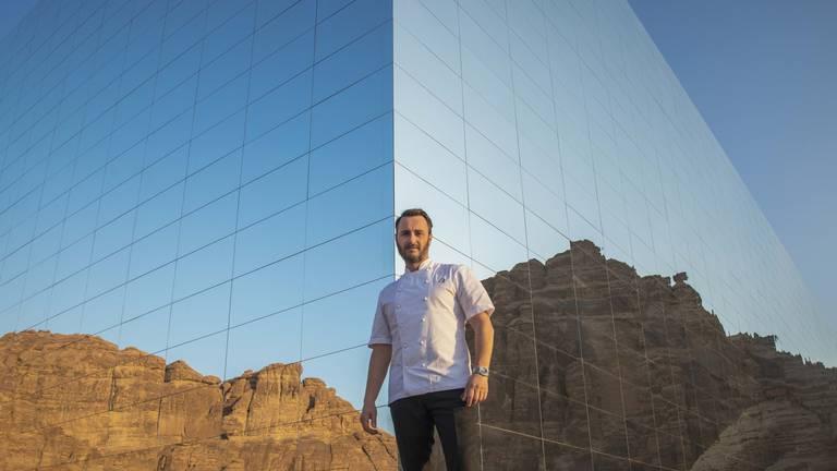 An image that illustrates this article British chef Jason Atherton to open venue in Saudi Arabia's Al Ula