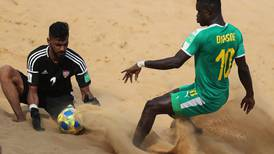 'We did not have luck on our side': UAE bow out of Beach Soccer World Cup after 3-1 defeat to Senegal
