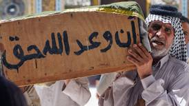 Nasiriyah begins to bury its dead after hospital blaze