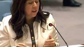 UAE ambassador to the UN Lana Nusseibeh: time to 'turbocharge' hiring women in peacekeeping