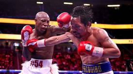 Manny Pacquiao apologises to fans and ponders future after shock defeat to Yordenis Ugas