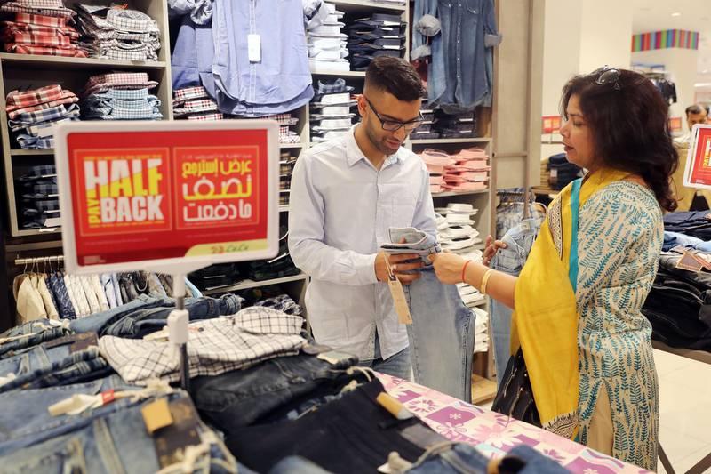 Abu Dhabi, United Arab Emirates - August 20, 2018: General view's of Lulu's Eid Al Adha celebrations. Monday, August 20th, 2018 at Lulu, Abu Dhabi. Chris Whiteoak / The National
