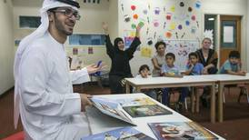 Emirati author regales special needs children with tales of heritage