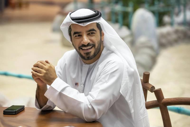 ABU DHABI, UNITED ARAB EMIRATES. 18 DECEMBER 2018. Miral CEO, Mohamed Al Zaabi, at Warner Bros. (Photo: Antonie Robertson/The National) Journalist: Dania Al Saadi. Section: Business.