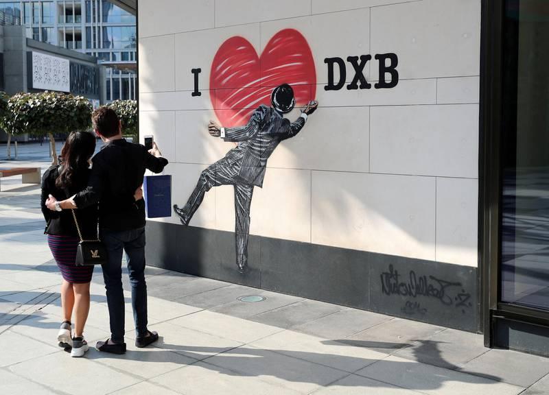 Dubai, United Arab Emirates - Reporter: N/A: Photo project. Street art and graffiti from around the UAE. Monday, January 27th, 2020. City Walk, Dubai. Chris Whiteoak / The National