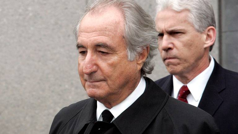 An image that illustrates this article Madoff asked Trump for clemency as an 'act of mercy and grace'
