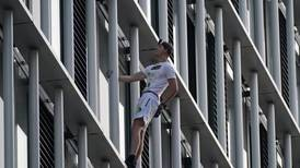 George King: daredevil jailed over Shard stunt scales another London tower