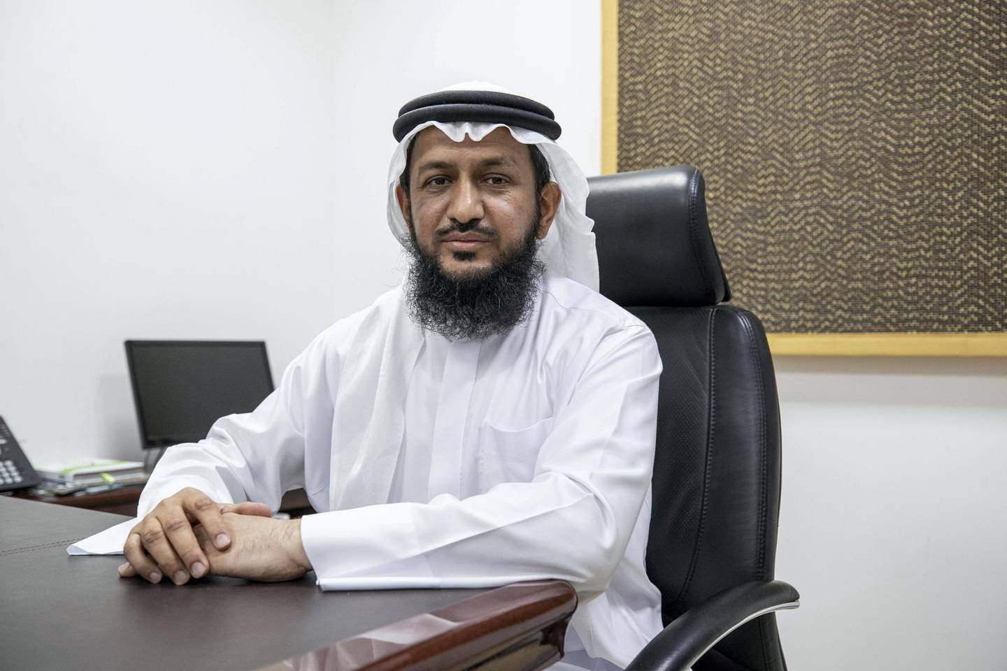 DUBAI, UNITED ARAB EMIRATES. 03 AUGUST 2020. UAE Space Agency investing Dh2m into  Emirati and expat's space startup firms. Hamad Alteneiji. (Photo: Antonie Robertson/The National) Journalist: Sarwat Nasir. Section: National.