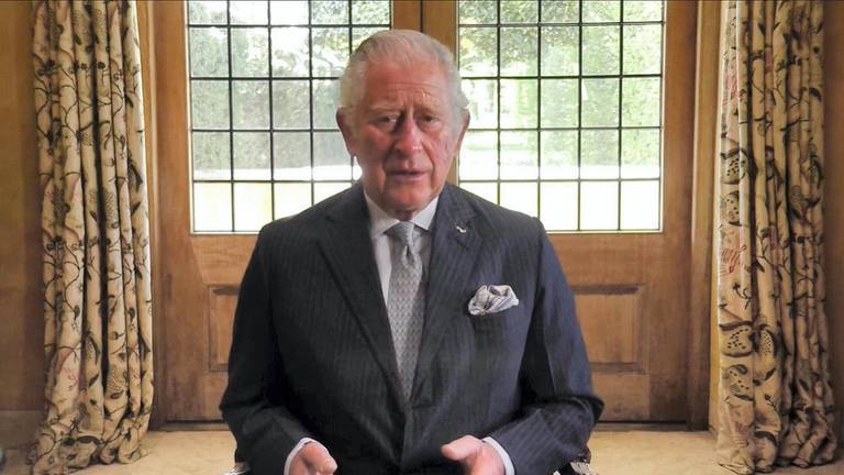 An image that illustrates this article Britain's Prince Charles reflects on his father's death in Ramadan message
