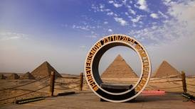 Art d'Egypte founder says Pyramids of Giza exhibition is 'huge undertaking'