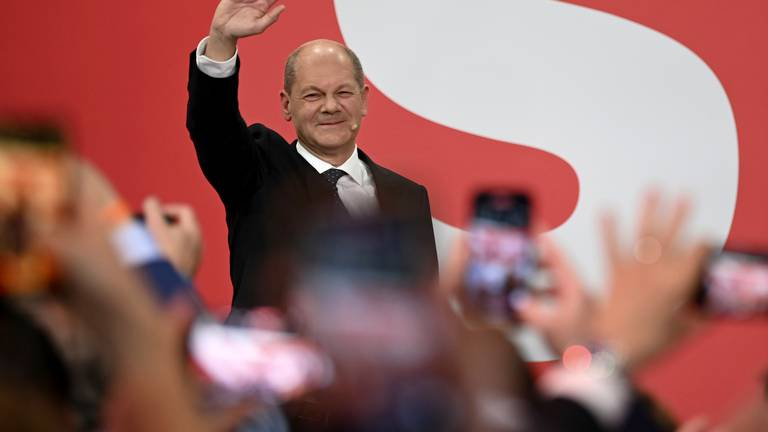 An image that illustrates this article Scholz sets sights on German chancellorship after pipping Merkel's heir
