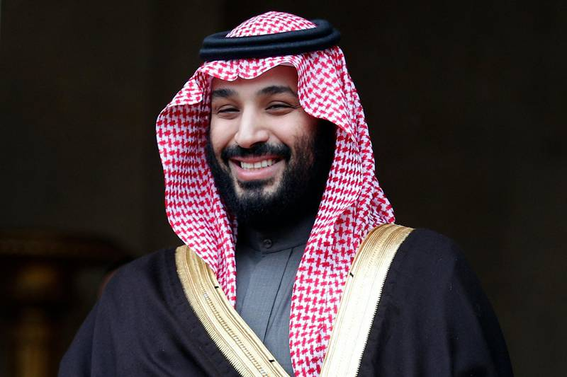 FILE- In this April 9, 2018 file photo, Saudi Crown Prince Mohammed bin Salman is welcomed by French Prime Minister Edouard Philippe in Paris, France. The disappearance of Saudi journalist and contributor to The Washington Post Jamal Khashoggi on Oct. 2, 2018, in Turkey, peels away a carefully cultivated reformist veneer promoted about the Saudi Crown Prince, instead exposing its autocratic tendencies. The kingdom long has been known to grab rambunctious princes or opponents abroad and spirit them back to Riyadh on private planes. But the disappearance of Khashoggi, who Turkish officials fear has been killed, potentially has taken the practice to a new, macabre level by grabbing a writer who could both navigate Saudi Arabia's byzantine royal court and explain it to the West. (AP Photo/Francois Mori, File)
