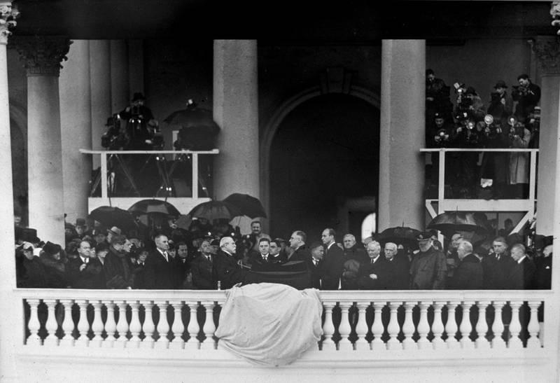 Franklin Delano Roosevelt's Inauguration 1933