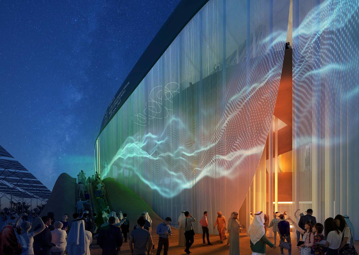 Unveiling Italian Pavilion 2020-Renderings. Courtesy: Italy Expo 2020