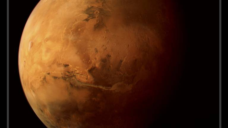 An image that illustrates this article Space fans delight in using UAE data set to create own depictions of Red Planet