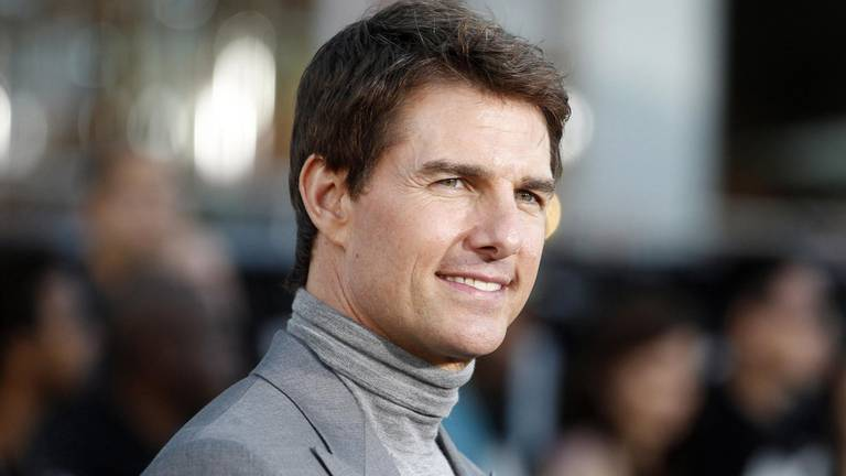 An image that illustrates this article Tom Cruise talks to SpaceX tourists in orbit ahead of film project