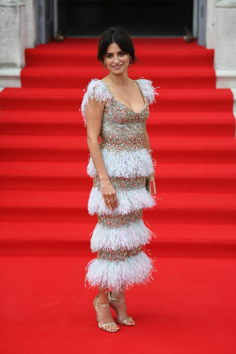 epa07762694 Spanish actress and cast member Penelope Cruz attends the UK premiere of 'Pain and Glory' in London, Britain, 08 August 2019. The movie opens in the UK on 24 August.  EPA-EFE/NEIL HALL