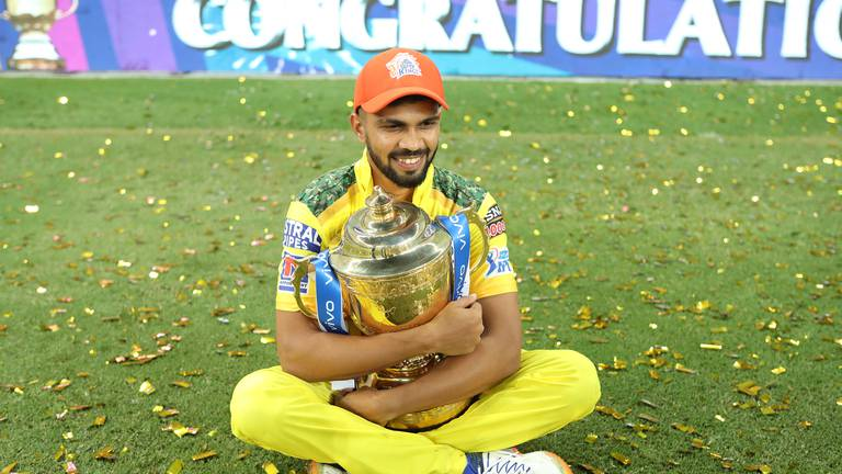 An image that illustrates this article IPL 2021: Gaikwad an 'absolute superstar', says coach Fleming