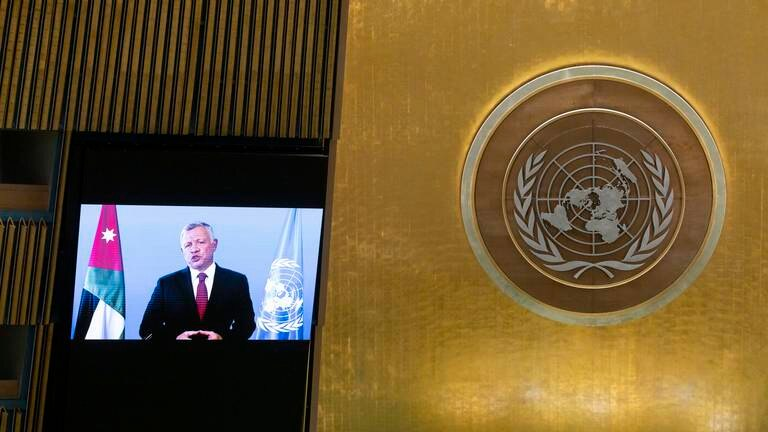 An image that illustrates this article UNGA 2021: Jordan's king calls for 'rethink' of climate change and pandemic efforts