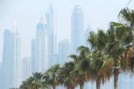 UAE weather: hazy and cloudy with a chance of rain