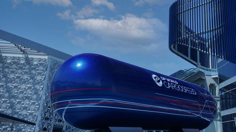 An image that illustrates this article DP World-backed Virgin Hyperloop to unveil its cargo pod at Expo 2020 pavilion