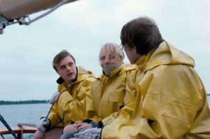 "(Left-right) Michael Pitt, Naomi Watts and Brady Corbet in an undated film still of ""Funny Games"" AP REF al10fimGAMES 10/07/08"