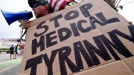 America's anti-vaccine brigade plays right into Biden's hands