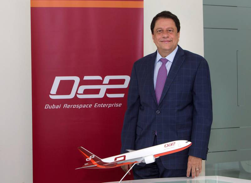 DUBAI, UNITED ARAB EMIRATES  27 August 2018- Interview with Firaz Tirapore, CEO of  Dubai government backed Dubai Aerospace Enterprise at his office in DIFC, Dubai. Leslie Pableo for The National for Sarah Townsend story