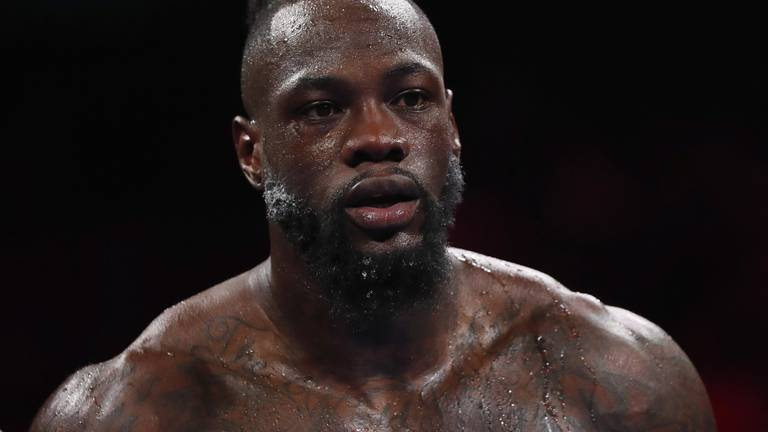 An image that illustrates this article Wilder has no plans to retire despite Fury defeat, says trainer