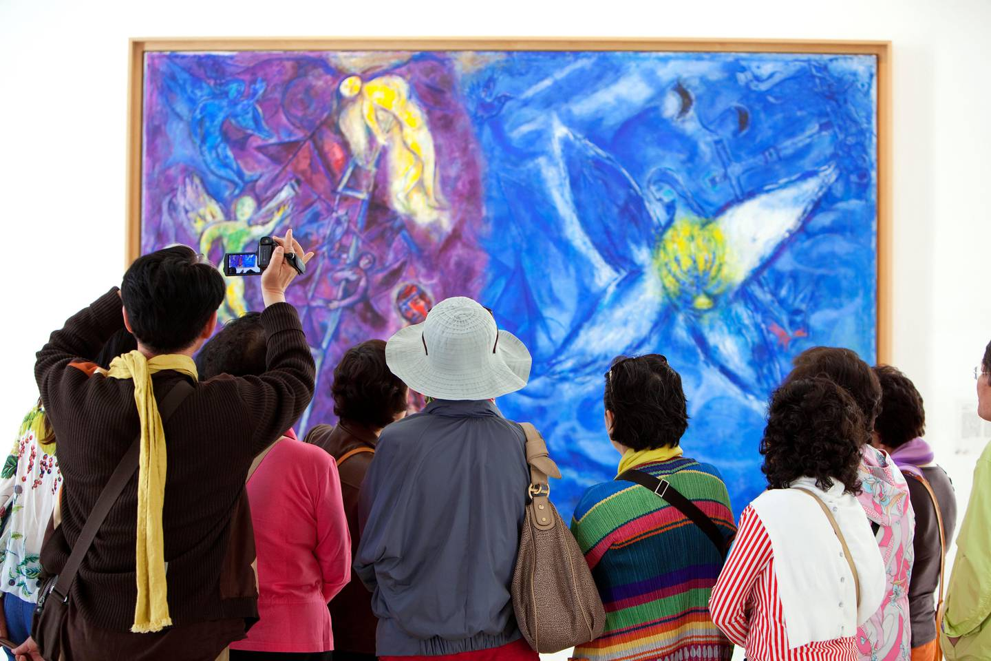 CN8AD9 France, Alpes Maritimes, Nice, Musee National Marc Chagall, the first national museum dedicated to an artist to honor his work. Hemis / Alamy Stock Photo