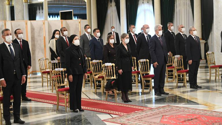 An image that illustrates this article Tunisia's new government – in pictures