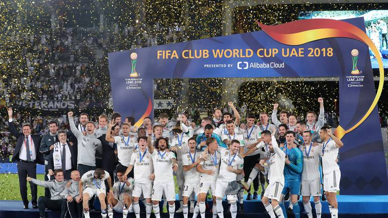 An image that illustrates this article Fifa Club World Cup: four previous finals in Abu Dhabi
