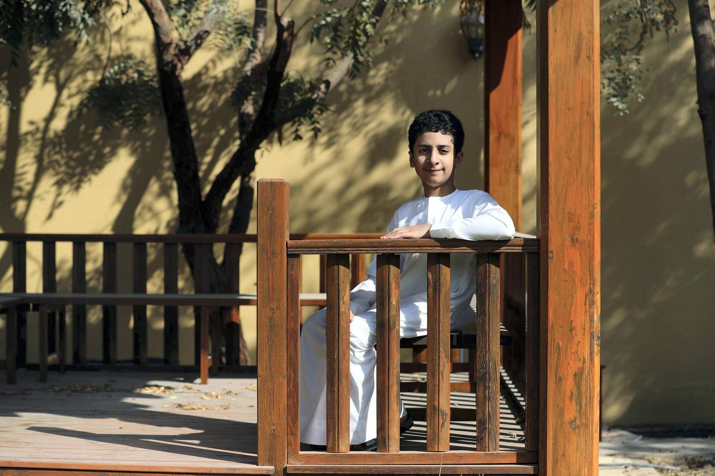 Dubai, United Arab Emirates - Reporter: Anam Rizvi. News. Ibrahim AlOwais. Ibrahim is a 12-year-old who has had cancer twice. He is a positive boy who talks about the challenges he faced and how he cheered himself up through treatments. Sunday, February 14th, 2021. Dubai. Chris Whiteoak / The National