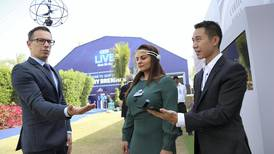 Mind-controlled drones go on display at Dubai forum